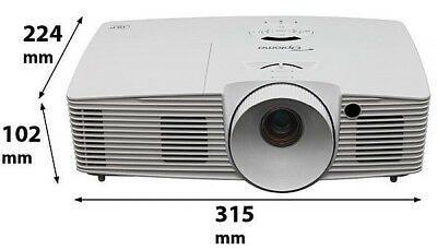 Optoma HD model EH341 video projector in excellent condition, under 10 hours use
