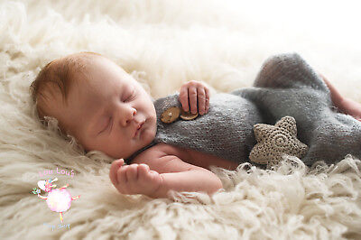 Newborn Photography Props Newborn Loose Knit Romper Photography Props for New...