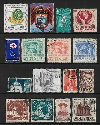 MEXICO mixed collection No.12, used