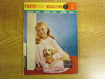 July 1963, PHOTOGUIDE MAGAZINE, Anthony Wigens, Jeanne White, Stacey Rodgers.
