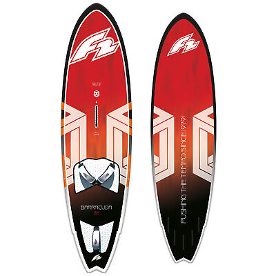 F2 Barracuda Allwave Quad & Thruster Windsurf-Board ~ 2019 Volumen: 100 Liter