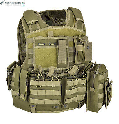 Body Armor Carrier Set Plattenträger Plate Carrier - SAPI Survival MRE BW KSK US