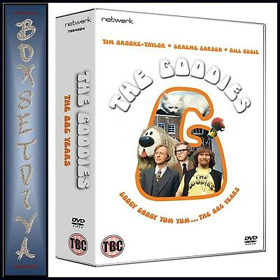 The Goodies - The Complete Bbc Collection ** Brand New 12 Dvd Boxset***