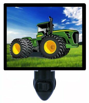 Childrens Night Light - Tractor - Construction Tractor - LED NIGHT LIGHT