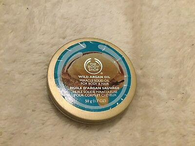 The Body Shop Wild Argan Oil Solid Miracle Oil