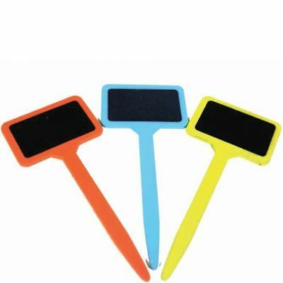 3 x Briers Kids Gardening Colourful Colorful Plant Flower Labels & Chalk