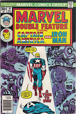 Marvel Double Feature #19 f/vf