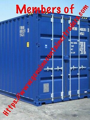 Shipping Containers 20 Ft Blue 2018 £1915+ Soton  Search Welderjohn13 Online