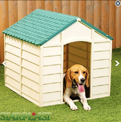 Dog Kennel - Premium Durable Outdoor Garden Patio Small Pet House Weather Proof