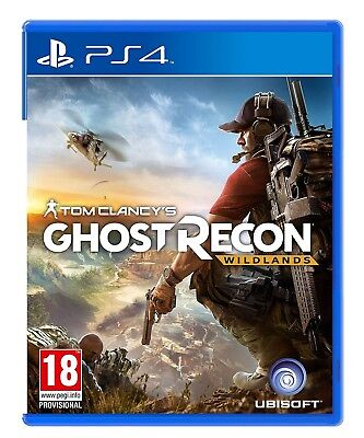 Tom Clancy's Ghost Recon: Wildlands PS4 New & Sealed