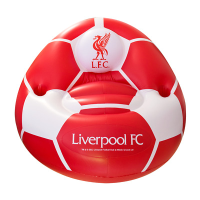 Liverpool Inflatable Chair - Official Fc Football Fan Souvenir Bedroom Match