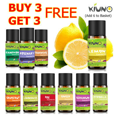 KIUNO 8ML Essential Oils 100% Pure Natural Aromatherapy Essential Oil Fragrance
