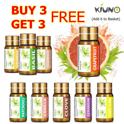 KIUNO 5ML Essential Oils 100% Pure Therapeutic Grade Oil Aromatherapy Oil Aroma