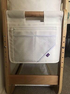 Snuzpod 2 Storage Pocket White Immaculate Condition RRP £19.95
