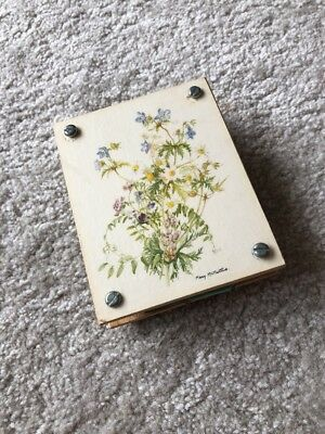 Vintage Small Wooden Flower Press