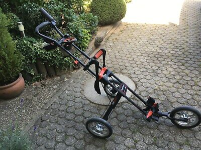 Bagboy 3 wheel foldable golf trolley