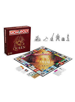 Queen Edition Monopoly Board Game Brand New Christmas Gift Freddie Mercury Xmas