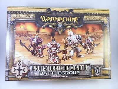 Warmachine Protectorate of Menoth Battle Group part Assembled