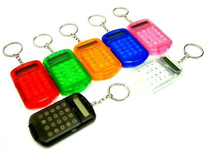 Keyring Calculator Pocket Calculator 8 Digit Calculator Mini Calculator Key Ring