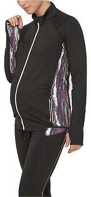 Maternity Sports Training Jacket Tracksuit Sze 12 Mamalicious Exercise Yoga £45