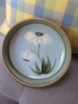 Vintage Holkham Studio Pottery, Norfolk Hand-Crafted Shallow Dish Cyril Ruffles.