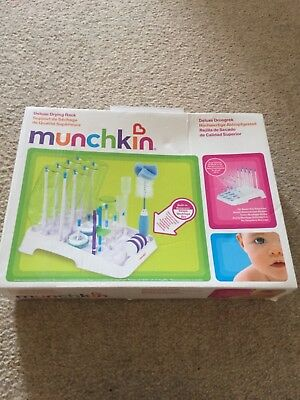 Munchkin Deluxe Drying Rack for Baby Bottles