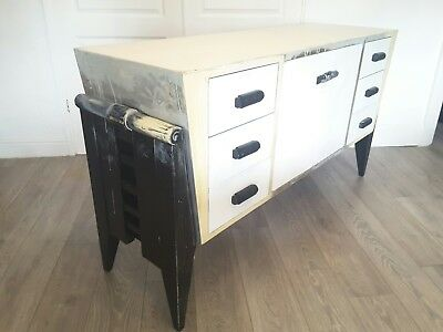 1980s Memphis Style Mid Century Modern Sideboard for Restoration / Upcycling