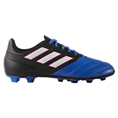 Youth adidas ACE Boots 17.4 FxG Football Moulded Studs Natural Artificial Grass