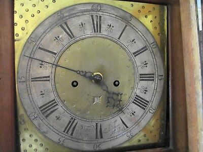 Richard Sill Wigton School Grandfather Clock Dial With Movement No Case