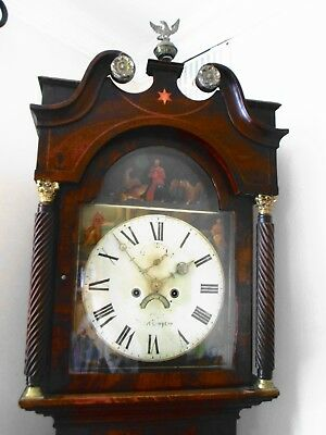 Whitmore Northampton Oak And Mahogany Grandfather Longcased Clock 1836