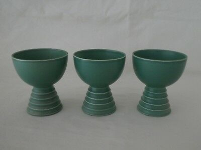 Art Deco KEITH MURRAY for Wedgwood Footed Cups