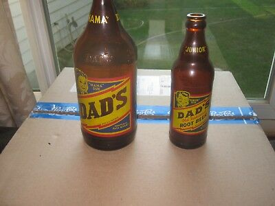 Dad's  Root Beer  Mama  And Junior  Size