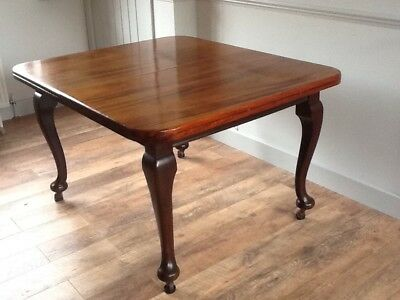 "Antique Mahogany Dining Table Extends 48"" - 72"""