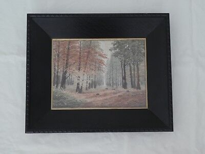 Antique Silk Embroidery Picture