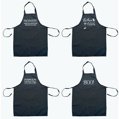 Halloween Funny Humour Cooking Grilling BBQ Chef Aprons Novelty Men Women Gift