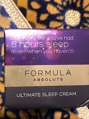M&S Formula Absolute Ultimate Sleep Cream 50ml bnew FULL SIZE