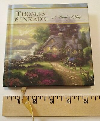 "THOMAS KINKADE 2002 ""A BOOK OF JOY"" (HARDCOVER) GIFT BOOKS FROM HALLMARK~Good co"