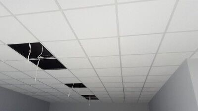 COMPLETE SUSPENDED CEILING KIT 10sqm - White Grid - CHEAPEST IN THE UK