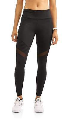 Danskin Now Women's Full Length Moto Performance Legging Various Sizes NEW Black