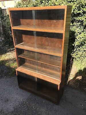 Oak MODULAR MINTY OXFORD ANTIQUE Sectional Library BOOKCASE
