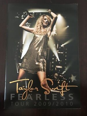 Taylor Swift Fearless 2009/2010 Tour Book