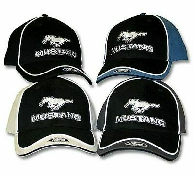Ford Mustang hat cap. 4 styles. hook/loop tab. Embroidered logos BRAND NEW H183