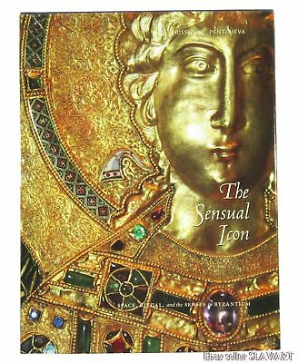BOOK The Sensual Icon Byzantine art culture Greek metal filigree enamel poikilia