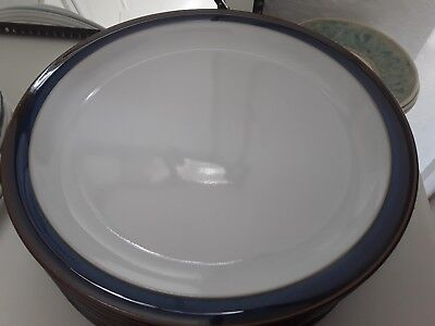 "Denby "" Imperial Blue"" Dinner Plate, Excellent Condition, Immaculate,"