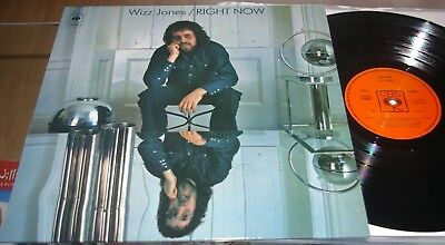 Lp Wizz Jones - Right Now - Folk Kult - Re-Reissue  201? Mint/mint-