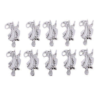 10pcs Alloy Witch Pedants for Necklace Bracelet DIY Jewelry Making Charms