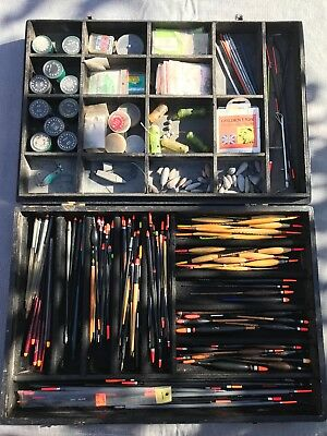 Vintage fishing floats/Crowquill avon floats and other fishing accessories