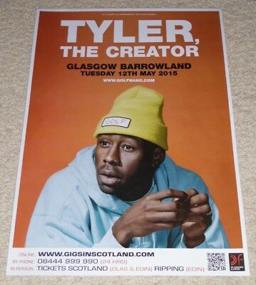 Tyler, The Creator - live music show concert gig tour poster - Odd Future