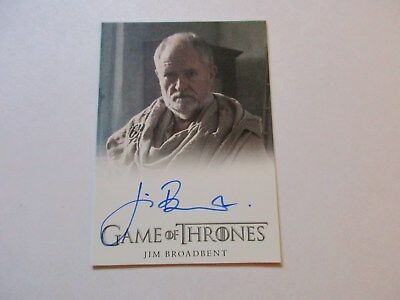Game of Thrones Season 7 - Jim Broadbent as Archmaester Ebrose Autograph Card