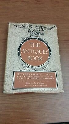 THE ANTIQUES BOOK edited by Alice Winchester (Hardcover/DJ/Illus/1st Ed) [1950]